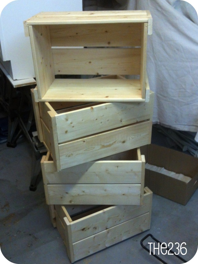 how to build wood crates